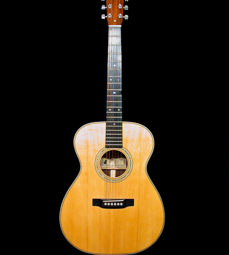 000 guitar made from Martin 000-28 EC kit
