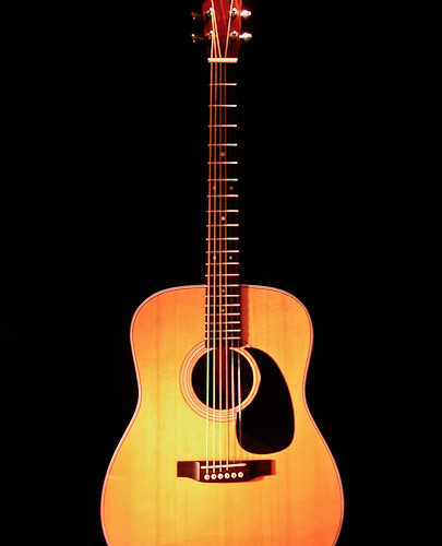 Dreadnaught guitar made from Martin kit