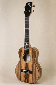 Spalted black limba tenor guitar