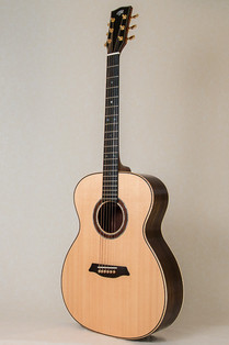 Rosewood and Sitka OM guitar