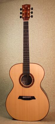 Ziricote and Sitka spruce phi guitar