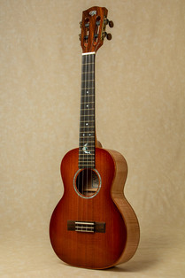 Redwood and maple tenor ukulele