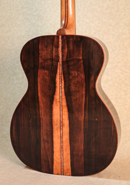 Malaysian Blackwood guitar body