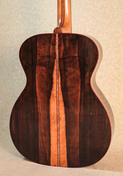 Malaysian Blackwood guitar body