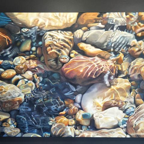 Heather Bradbury  Eternity 137x83.5cm Oil on Canvas  $6300