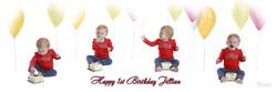 Giddens 12x4 1st Birthday