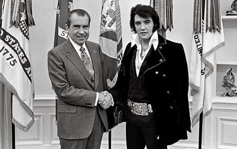 Behind the Scenes: When Nixon Met Elvis