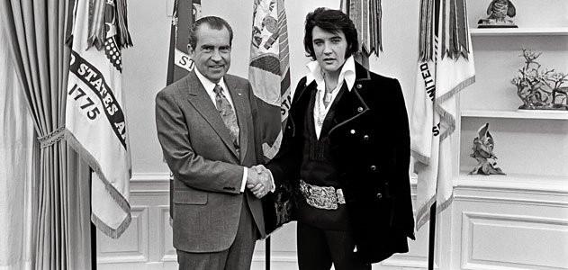Nixon and Elivs