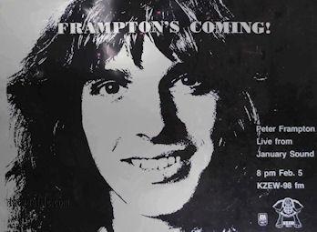Frampton KZEW poster