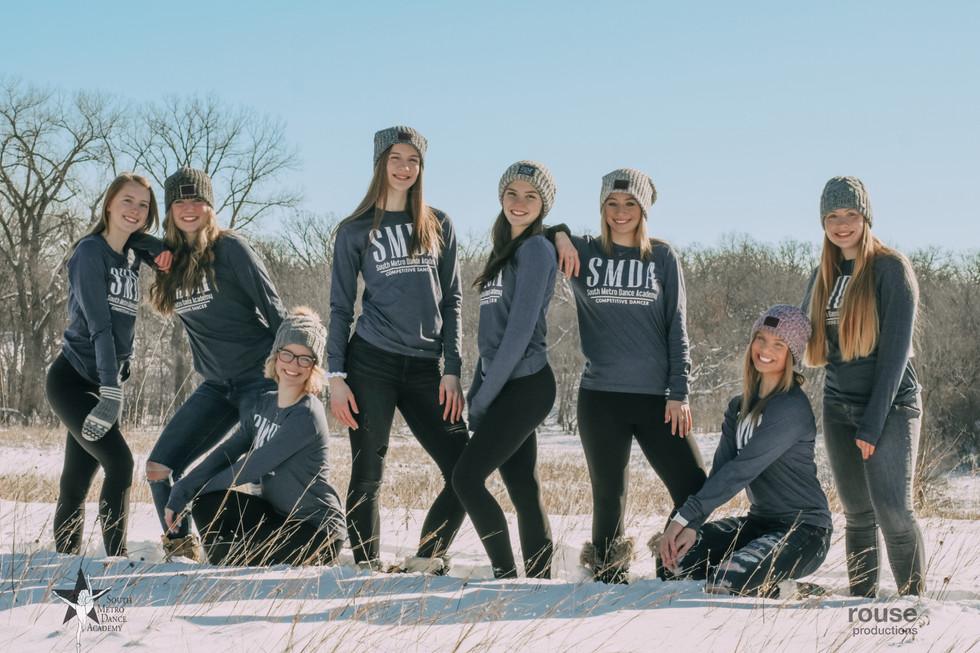 South Metro Dance Academy Company Line Shoot