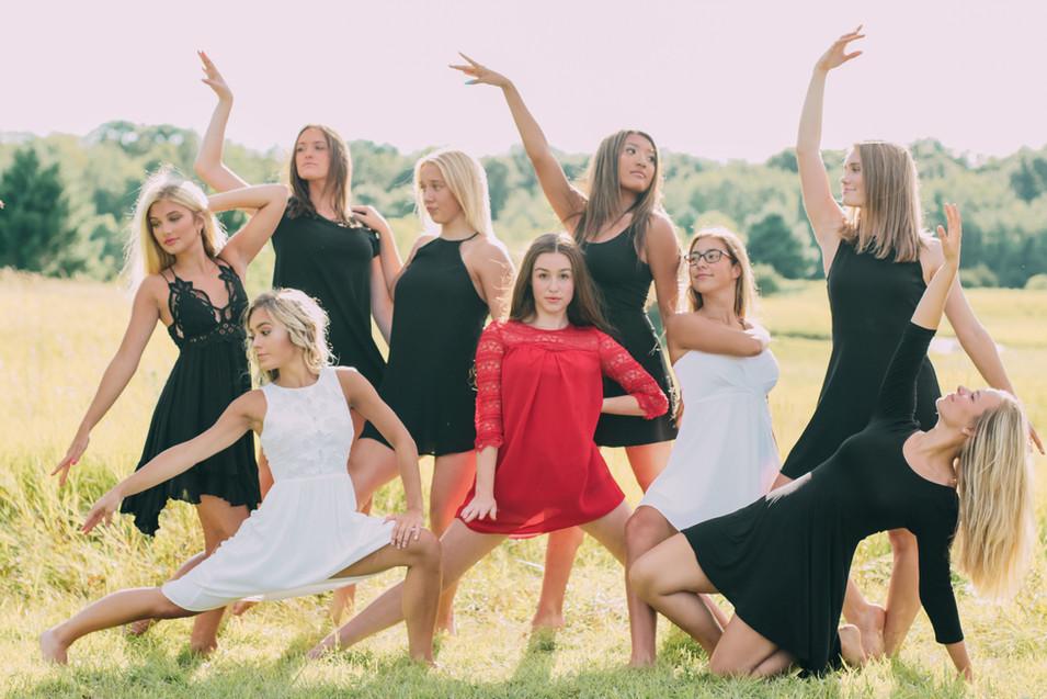 Lakeville North dance team juniors