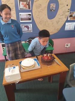 Caleb Birthday Cake