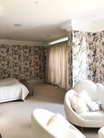 mixed cotton curtains, Studio Lora Tarbe