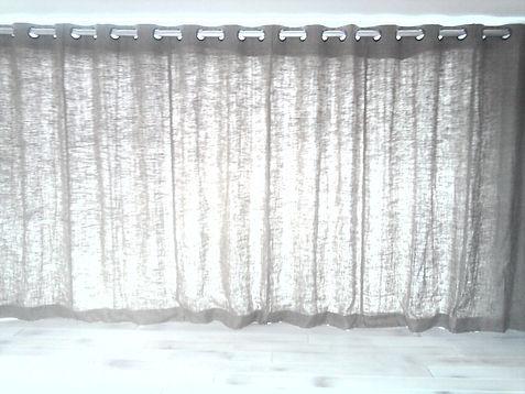 Rustic Linen curtains Studio Lora Tarbet