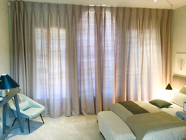 curtains from pure silk made by Studio L