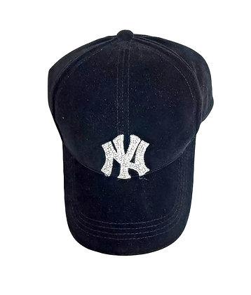 VELVET BLING NY HAT