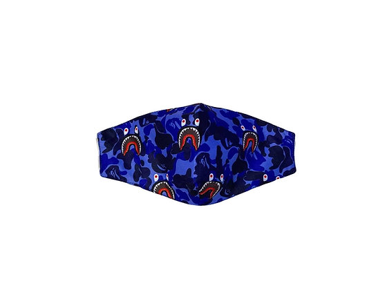 BAPE MASK (BLUE)