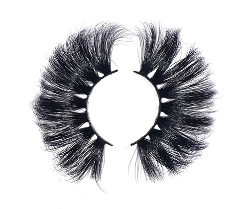 5D  FLUFFY LASHES: CHAMPAGNE