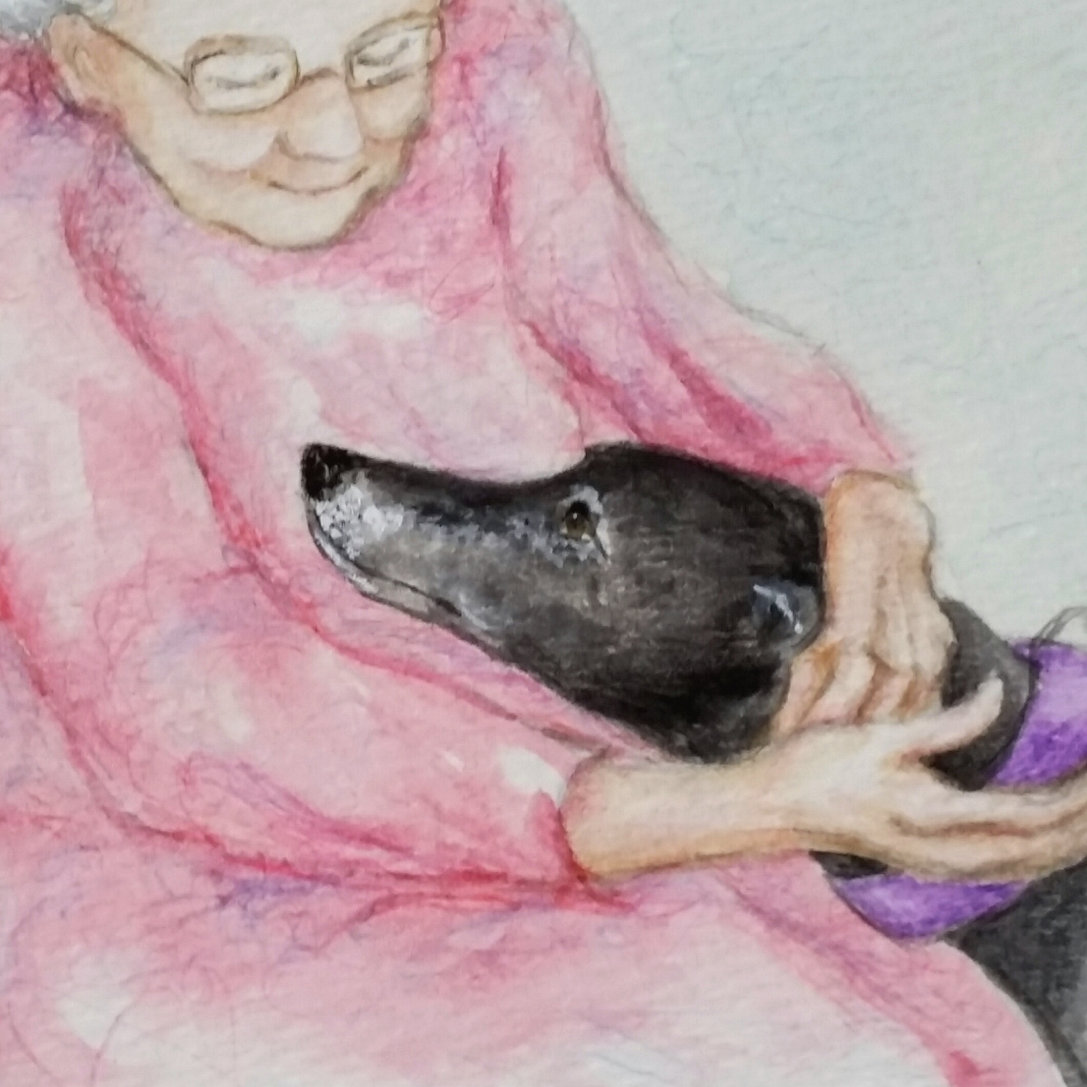 page from one of the Greyhound Love