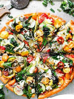 "10"" The Vegetarian Pizza (V)"