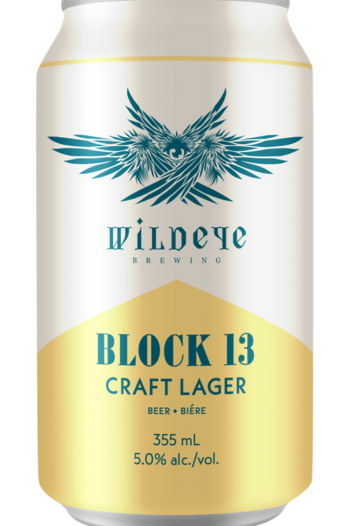 12 PACK -BLOCK 13 CRAFT LAGER