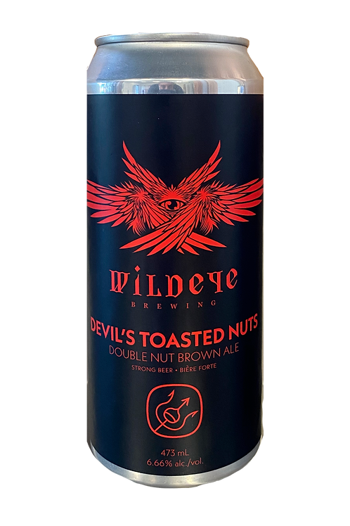 4 PACK - DEVIL'S TOASTED NUTS DOUBLE NUT BROWN ALE