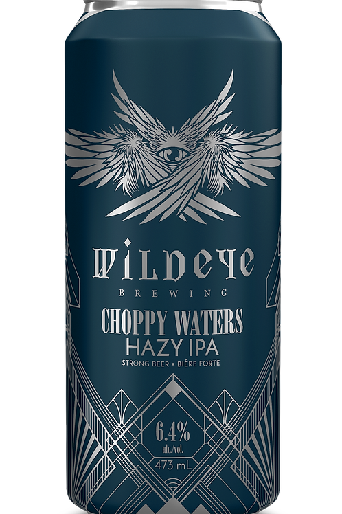 4 PACK - CHOPPY WATERS HAZY IPA
