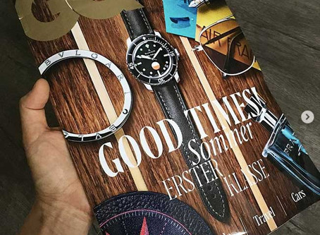 GQ Magazine Germany's Annual Luxury Issue