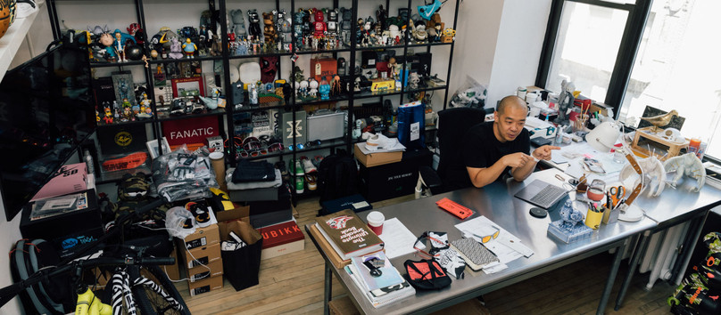 Dope AF! This is how @jeffstaple works
