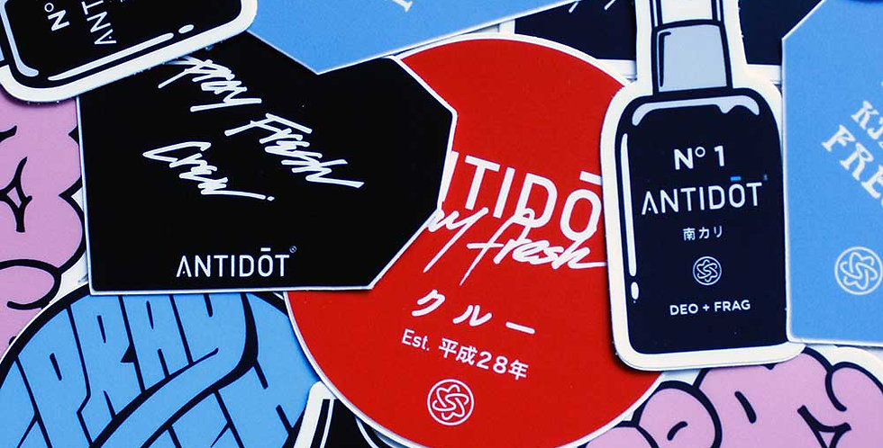 ANTIDŌT Sticker Pack