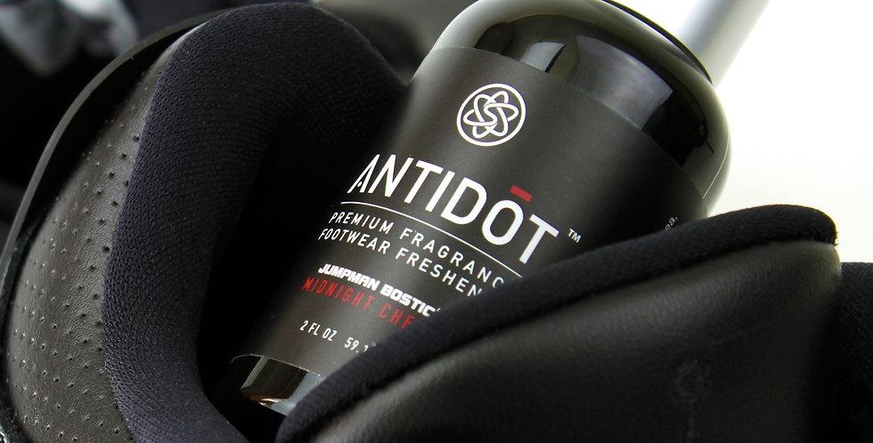 ANTIDŌT [Shoe Deodorizer + Fragrance] Premium Scented Sneaker Freshener Spray for Sneakerheads - Midnight Cherry