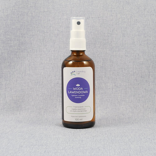 Woda lawendowa (hydrolat)
