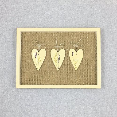Obrazek: serca ceramiczne, małe