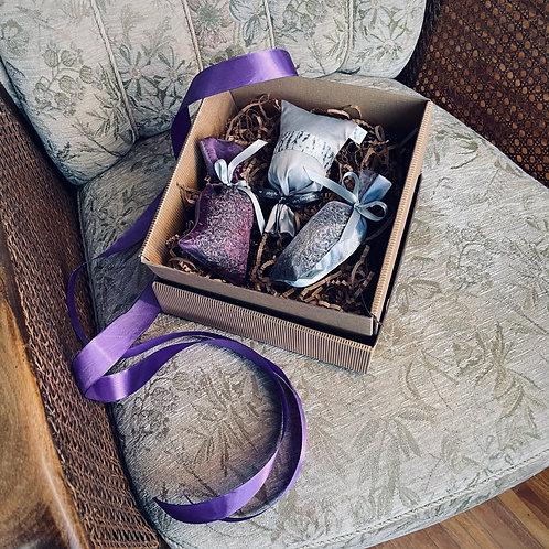 Zestaw prezentowy w opakowaniu ozdobnym (nr 4)