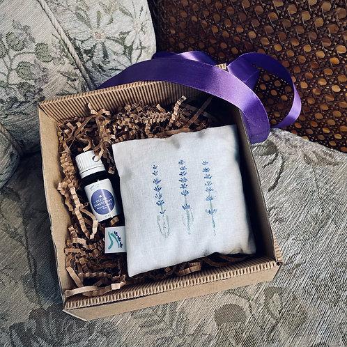 Zestaw prezentowy w opakowaniu ozdobnym (nr 2)