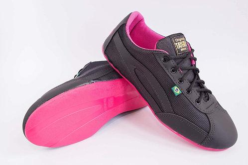 Taygra Black & Pink Shoes