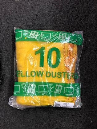 Duster Yellow Pk 10
