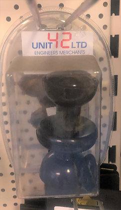 RF050BL Mortice knob set black