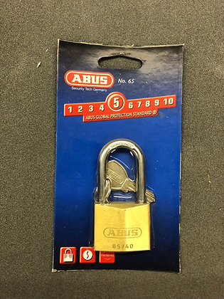 Padlock Brass 40mm 65C