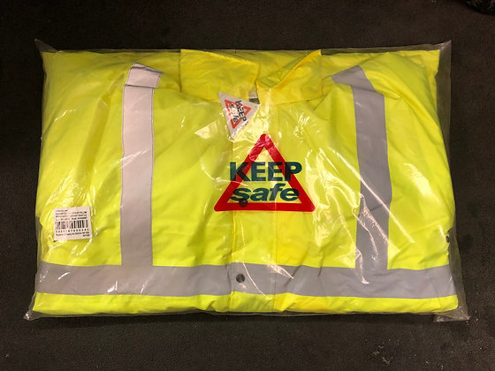 HI VIS Yellow Jacket