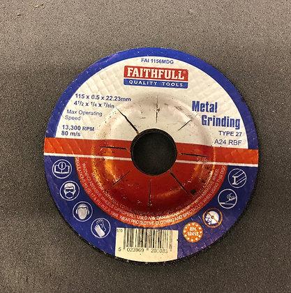 """Grinding Disc Metal 4.5"""""""