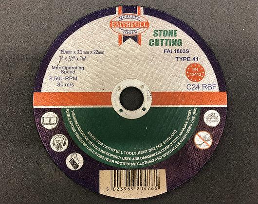 """Cutting Disc Stone 7"""""""