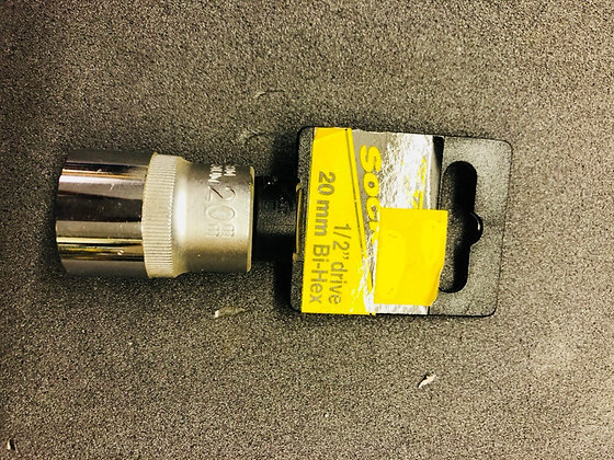 "20mm 1/2"" Drive Socket"