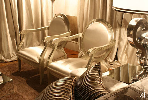 Restyled Armchairs by Habitat Improver at Casa Decor 2009, Principe Real, Lisboa, for Teresa Lucas