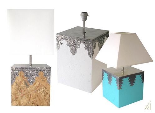 Table Lamps by Habitat Improver selling at Rice, Marta Mantero, Comporta