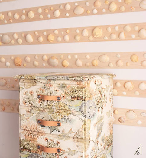 seashell wall and underwater dream by habitat improver