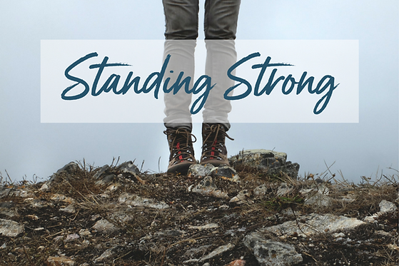 Woman Standing Strong
