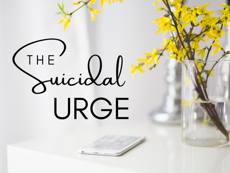 The Suicidal Urge