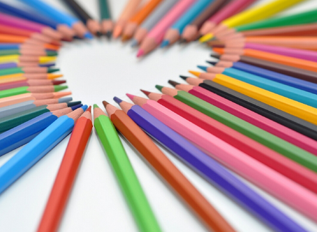 Colouring With Every Shade in Your Heart