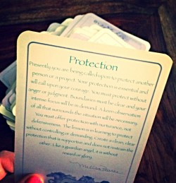 Pulling the Protection Card (how one card changed my relationships forever)